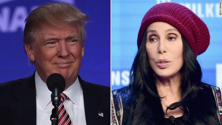 Cher blasts Donald Trump