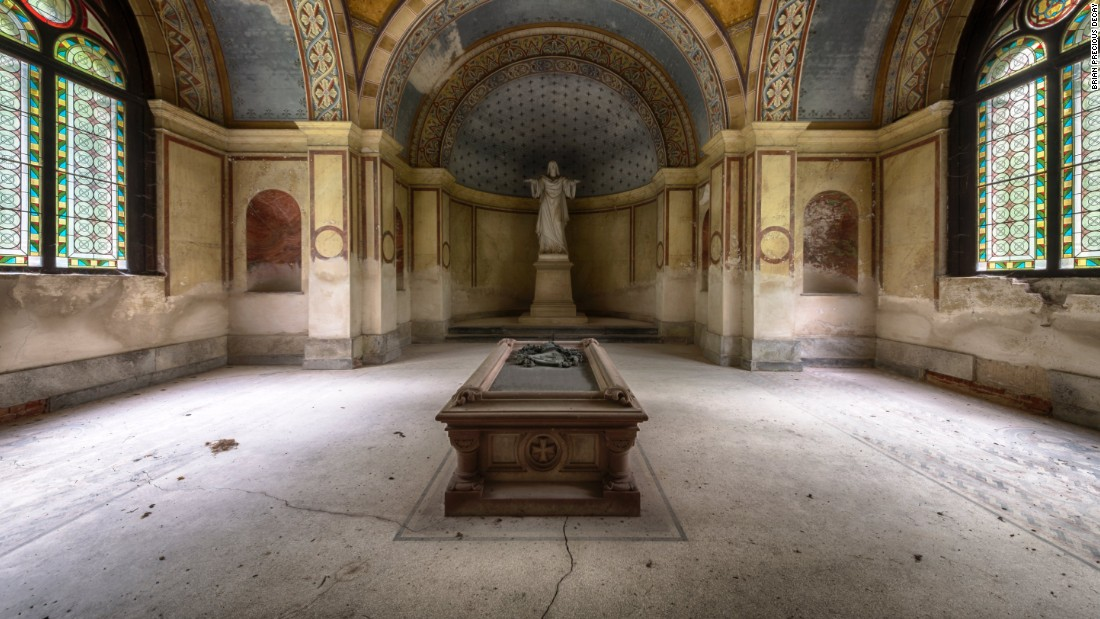 A mausoleum in Germany, built at the end of the 19th century.