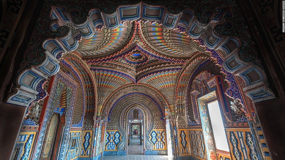 Looting has left it without running water or electricity. Locals fear the castle will eventually be lost to decay and in 2013 set up a voluntary committee of 50 members charged with saving Sammezzano. The Committee FPXA -- named after the castle's visionary owner -- is non-profit but holds group viewings around the castle's interiors six to eight days per year. So far 15,000 tourists have been through its doors.