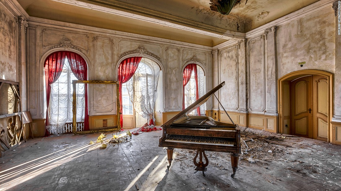 "In Germany, once cherished tourist hotspots were lost to the Cold War. <a href=""https://instagram.com/richterchristian"" target=""_blank"">Photographer Christian Richter</a> spent his teenage years exploring the abandoned buildings of what was then communist East Germany."