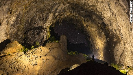 Tourism development poses a potential threat to the environment of the cave.