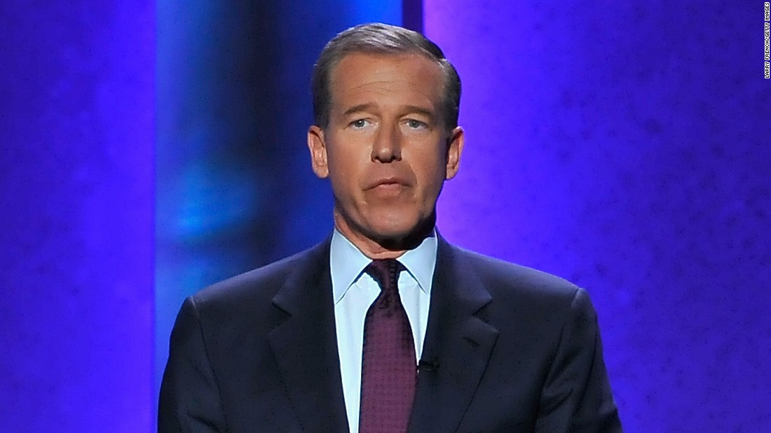 "Journalist Brian Williams lost his ""Nightly News"" anchor chair after he was caught lying about surviving a helicopter attack in Iraq.  After admitting to ""misremembering"" the tall tale, NBC <a href=""http://money.cnn.com/2015/09/22/media/brian-williams-back-at-work/"">launched an investigation </a>that found other instances where Williams had stretched the truth while reporting from the field. NBC briefly suspended Williams and cut his pay before switching him to the 11 p.m. slot on MSNBC this election season."