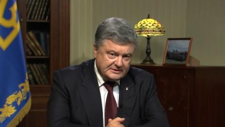 Ukraine President: Putin wants 'the whole ukraine'