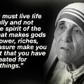 Mother Theresa quote 8
