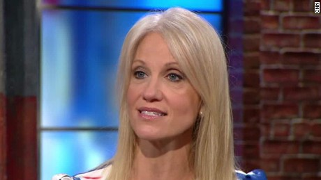 Conway slammed 'system is rigged' rhetoric in April