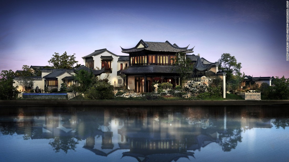 Luxury House china's super wealthy shun western-looking homes | cnn style