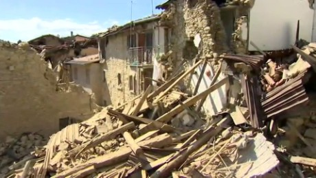 Surveying Italy's earthquake damage