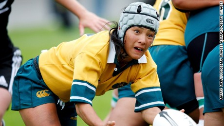 Cheryl McAfee led Australia to the World Cup title in 2009.