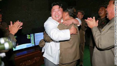 North Korean leader calls missile test 'great success'