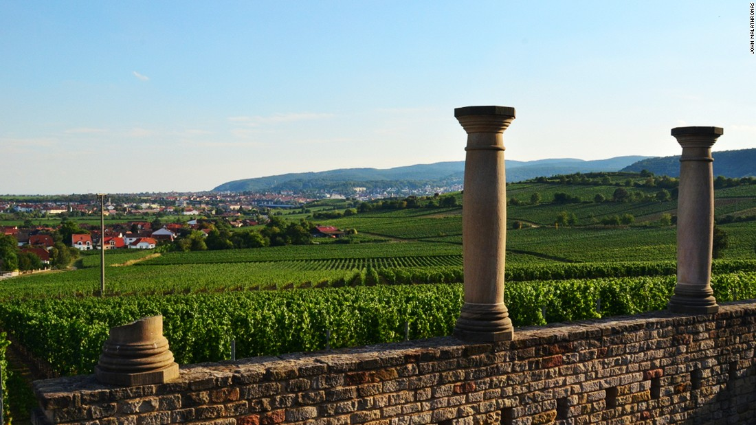 Just above Bad Durkheim lies Weilberg, where a Roman winery dating back more than 2,000 years was recently excavated and partly restored.
