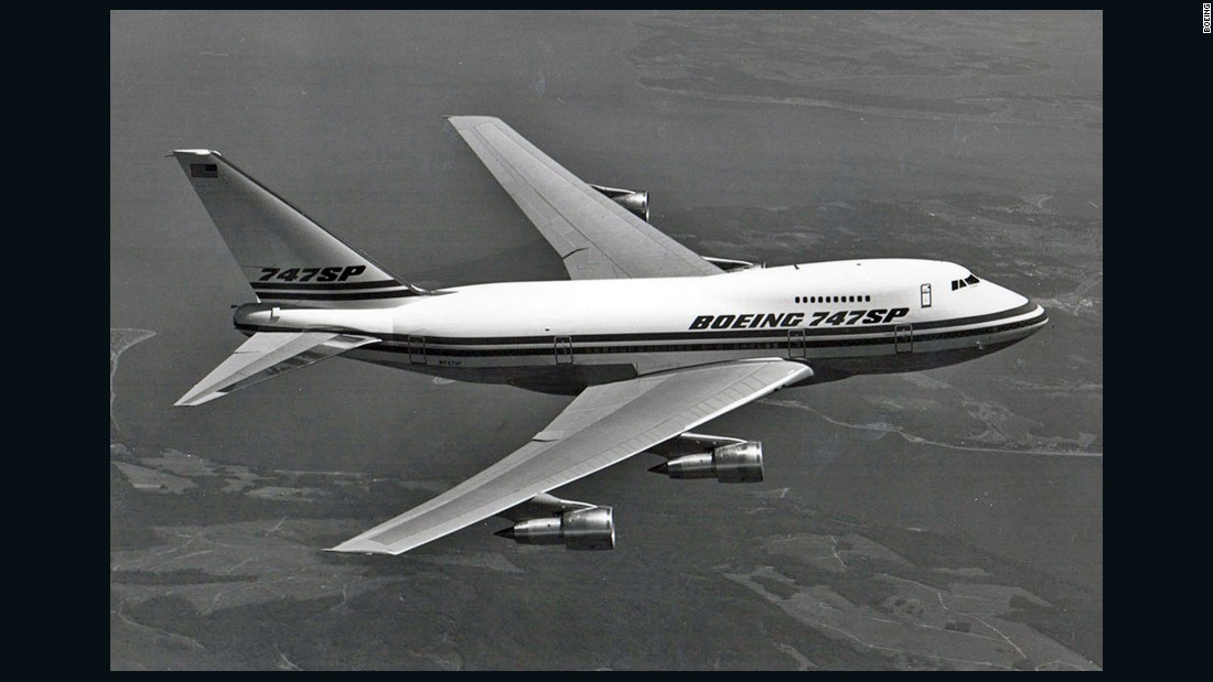 "The Boeing 747SP type is rare. Out of more than 1,500 747s built, only 45 SPs rolled off the assembly line. Fewer than five examples remain airworthy today. It's essentially a 747-200 model, except it's 47 feet shorter. The ""SP"" stands for Special Performance -- and in it lived up to its name. In its day, the SP could fly faster, higher, and farther than any other airliner."