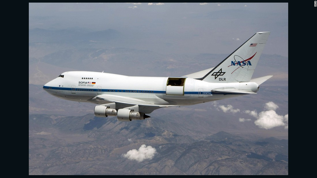 The Boeing 747SP named SOFIA is the largest flying observatory in the world, according to NASA. SOFIA (Stratospheric Observatory for Infrared Astronomy) is designed to observe the infrared universe. It provides data that can't be picked up by any other telescope on the ground or in space. Click through the gallery to learn more about SOFIA.