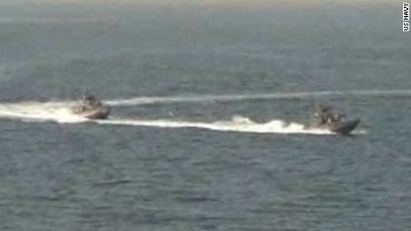 US Navy fires warning shots at Iranian vessel
