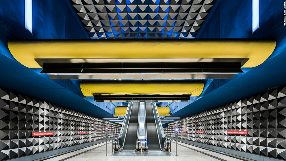 "Forsyth's <a href=""http://www.chrismforsyth.com/"" target=""_blank"">The Metro Project</a> began as a college project and has now expanded to become a collaborative online archive. Pictured: Olympia Einkaufszentrum, Munich."