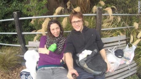 Pavlina Pizova and Ondrej Petr.