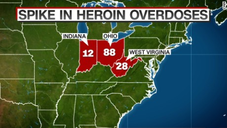 Spike in heroin overdose