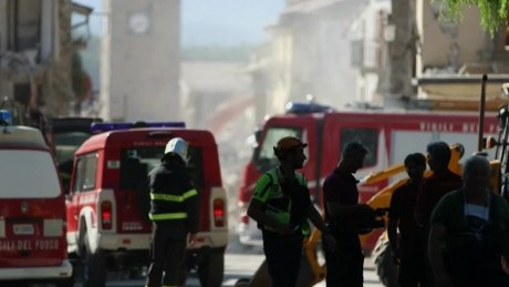 Why is rescue work in Italy so hard?