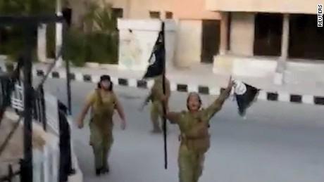 syrian rebels retake jarablus wedeman pkg_00001607