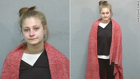 New South Wales Police released two images of the escaped teenager, appealing for information about her whereabouts