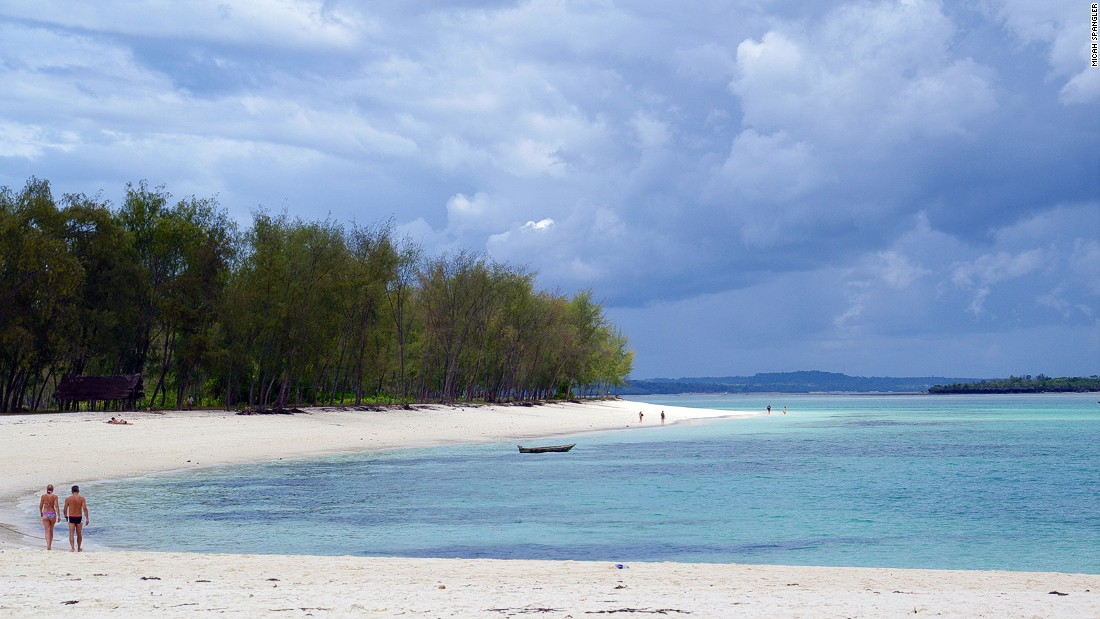 The Nungwi peninsula is about an hour's drive north of Stone Town. The former fishing village of Nungwi is known for its white-sand beaches.