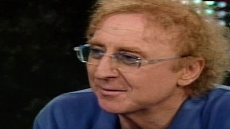 larry king live gene wilder intv love acting hate show business sot _00003021