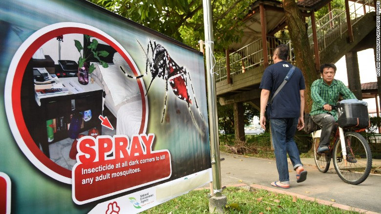 Zika virus spreads to Singapore and South East Asia