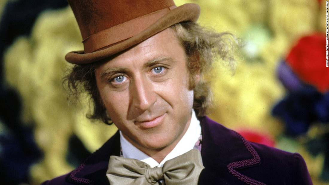 "Comedic actor Gene Wilder, seen here as candy tycoon Willy Wonka in the 1971 classic ""Willy Wonka & the Chocolate Factory,"" died Monday, August 29, at the age of 83."