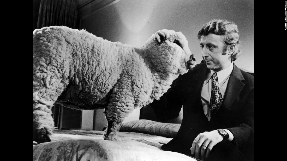"Wilder sits next to a sheep in Woody Allen's 1972 film ""Everything You Always Wanted to Know About Sex* (*But Were Afraid to Ask)."""