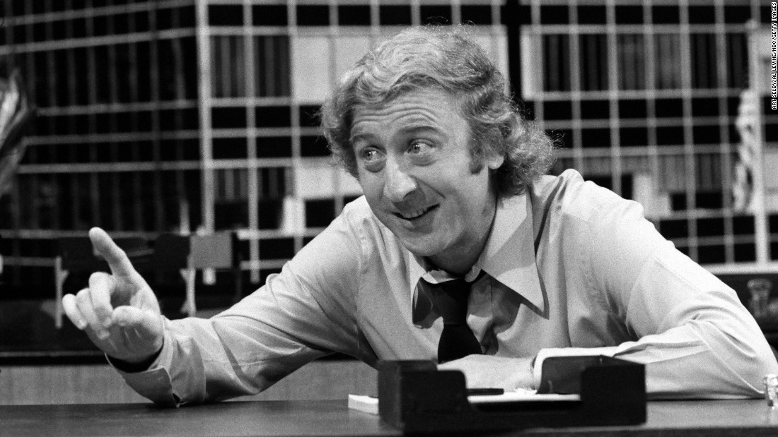 "Wilder appears in a sketch called ""The Office Sharers"" during an NBC hourlong special called ""The Trouble With People"" in 1972."