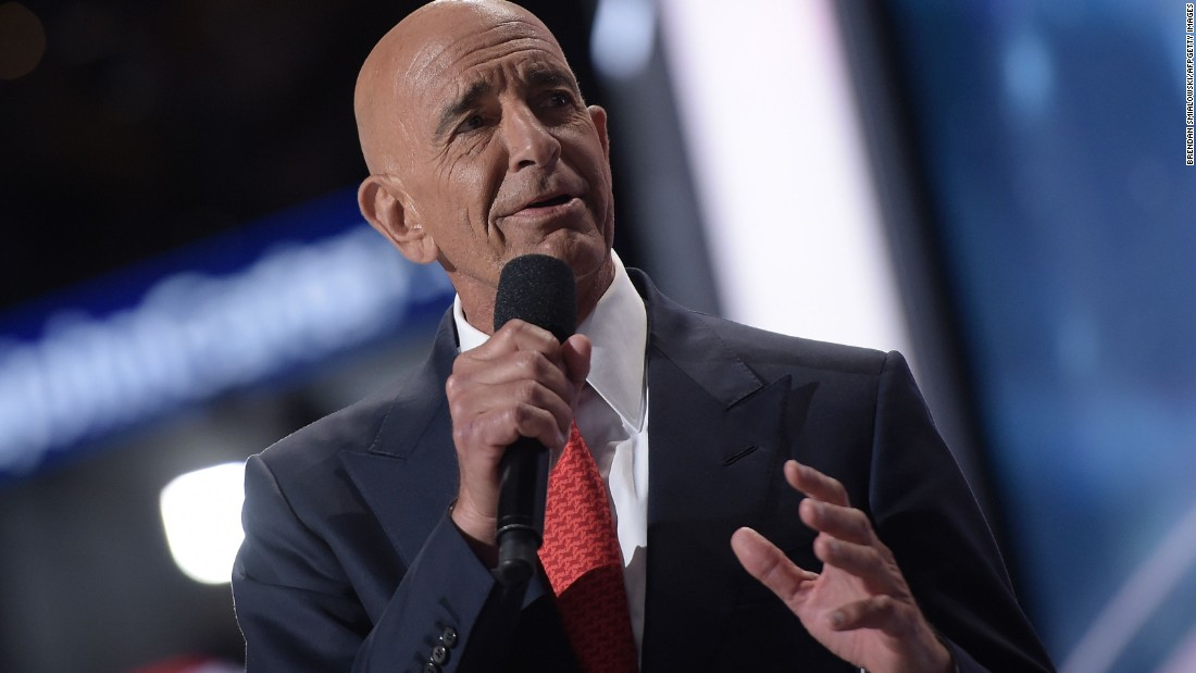 Tom Barrack: Donald Trump's power broker