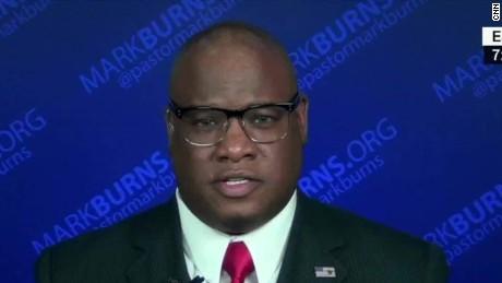 pastor mark burns clinton blackface tweet newday_00012617