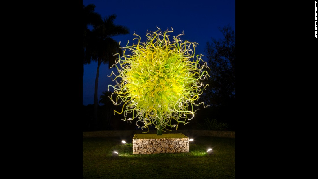 "The radiating ""Sol del Citrón"" is especially eye-catching against the night sky."