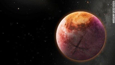 An artist's conception of Planet X