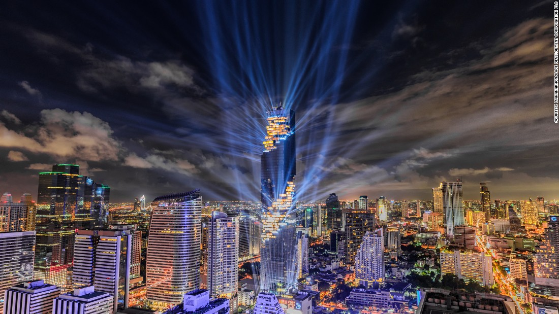 Stretching 314 meters (1,030 feet) tall, MahaNakhon has officially claimed the crown of Thailand's tallest skyscraper.