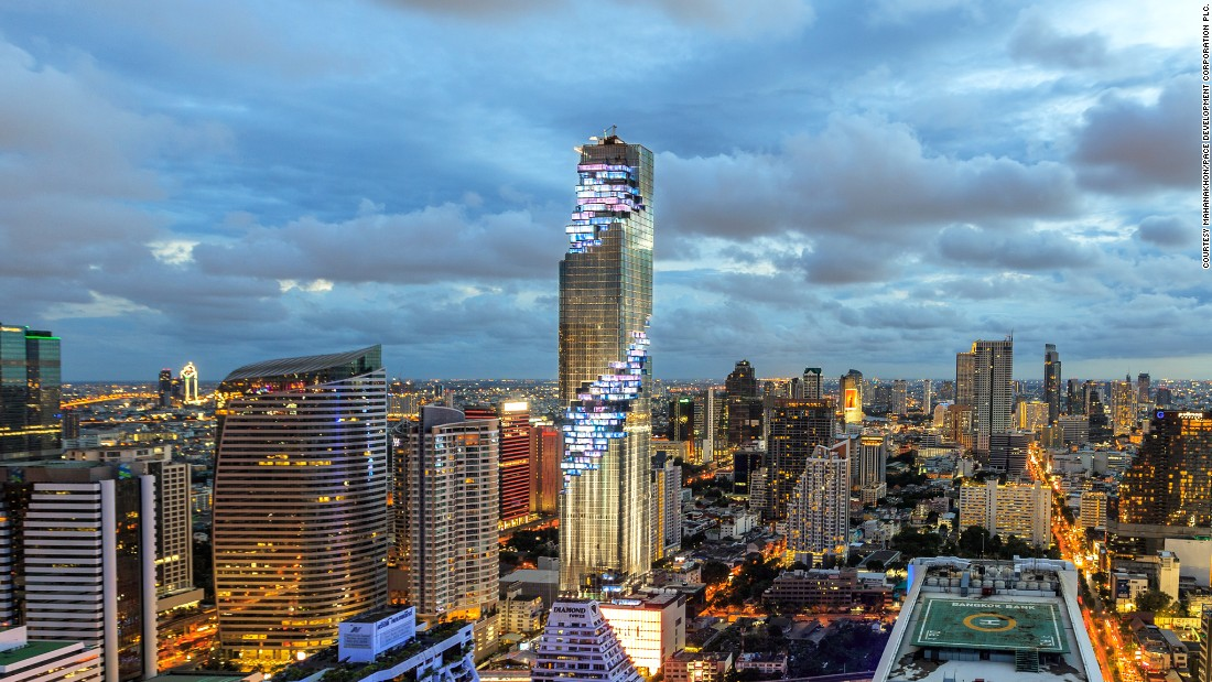 MahaNakhon is the vision of Ole Scheeren, which was developed by a team of Thai architects and designers at Buro Ole Scheeren Group/OMA.