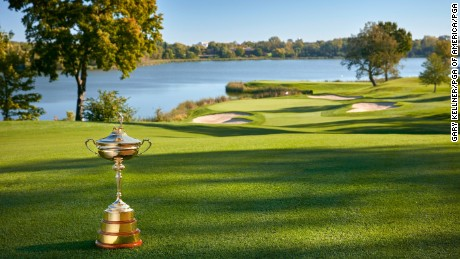 Hazeltine is the host venue for the 2016 Ryder Cup.