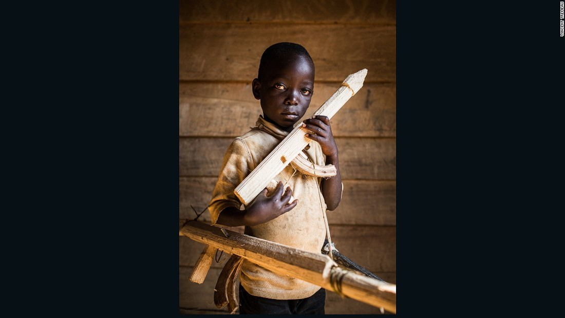 "Paradoxe (Soldier), Democratic Republic of the Congo. ""I don't know my exact age, and I don't go to school. One day I will be a soldier, to fight other soldiers. Soldiers are not kind because they killed my brother""."