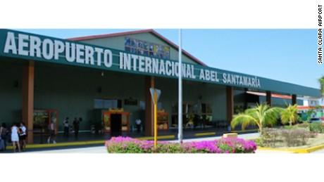 Santamaria Airport in Villa Clara, Cuba
