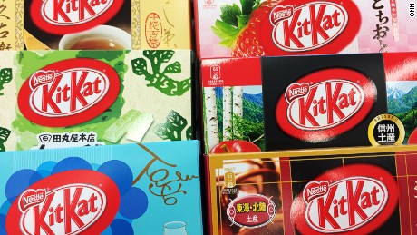 Confectionery king: KitKat has become a best seller.