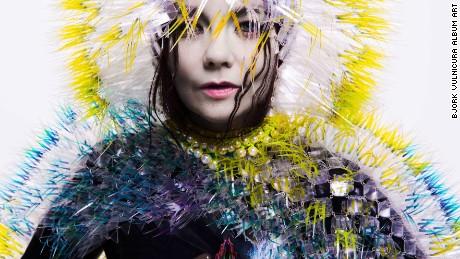 Björk's Vulnicura album art