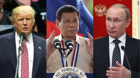 Trump, Duterte or Putin?