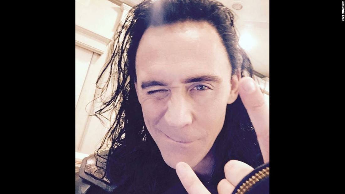 "Actor Tom Hiddleston opened his Instagram account in full Loki costume on Tuesday, August 9. ""He's back!"" <a href=""https://www.instagram.com/p/BI464OMhT3E/"" target=""_blank"">Hiddleston said,</a> referring to his role in the upcoming ""Thor"" sequel."