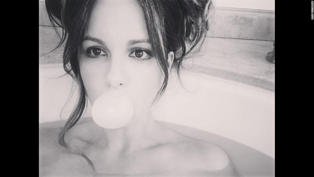 "Actress Kate Beckinsale posted this photo to her Instagram with the caption ""Bubble bath"" on Thursday, August 25."