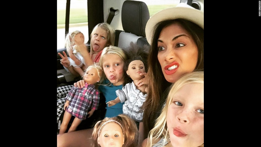 "Singer Nicole Scherzinger snaps a selfie with her young nieces on Friday, August 5. ""The motley crew's together again!"" <a href=""https://www.instagram.com/p/BIvbnDFgvDb/"" target=""_blank"">she said on Instagram.</a> ""Trouble's back in town."""