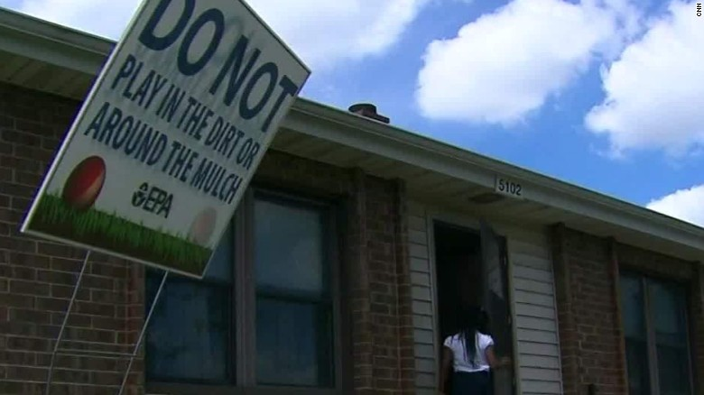 Lead poisoning forces Indiana residents out of homes