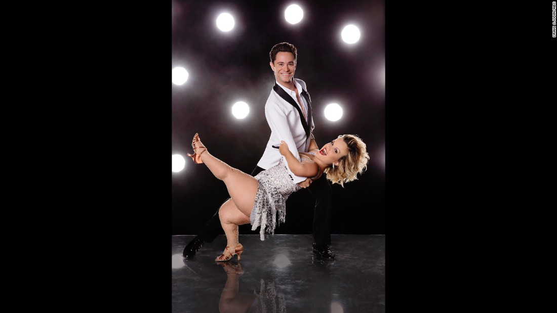 Pro dancer Sasha Farber and reality star Terra Jolé.