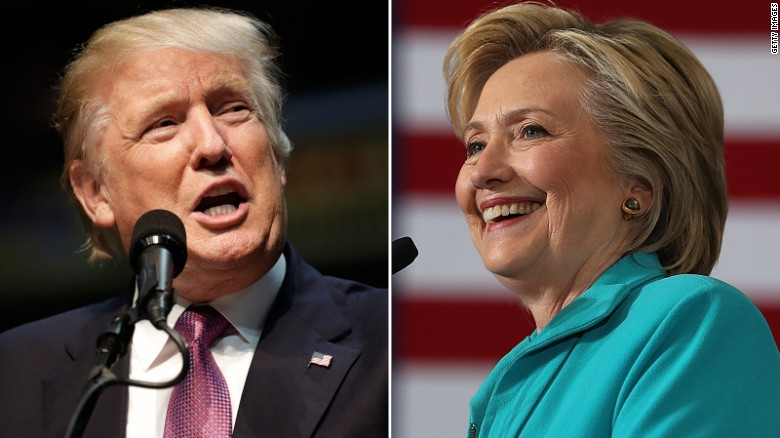 CNN Poll of Polls: Trump cuts Clinton lead in half
