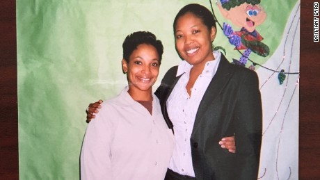 Attorney Brittany Byrd visits her client, Sharanda Jones, in prison where she was serving a life sentence.