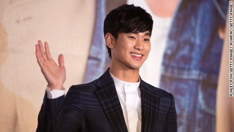 "South Korean drama ""My Love from the Star,"" starring Kim Soo-Hyun (pictured), was hugely popular in China."
