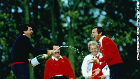 Seve Ballesteros was a key part of Europe's 1985 triumph.